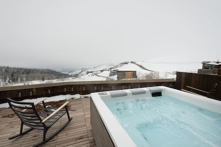SKI IN SKI OUT Powder Mountain Home Stunning Views Private Hot Tub CC-2