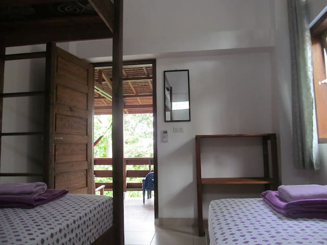 Treetop Guesthouse room 1