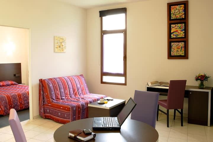 Appartement duplex de 30m² au pied des remparts de Carcassonne