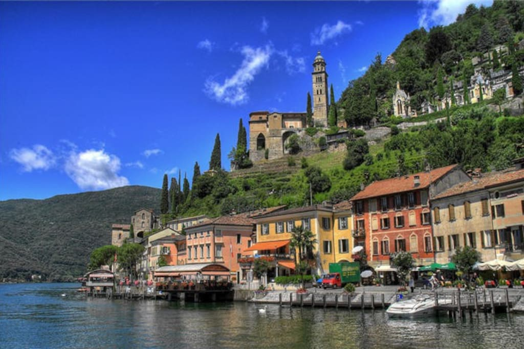 Relax On The Shore Of Lake Lugano Houses For Rent In