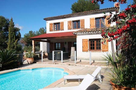 Villa with pool Nice France - Colomars