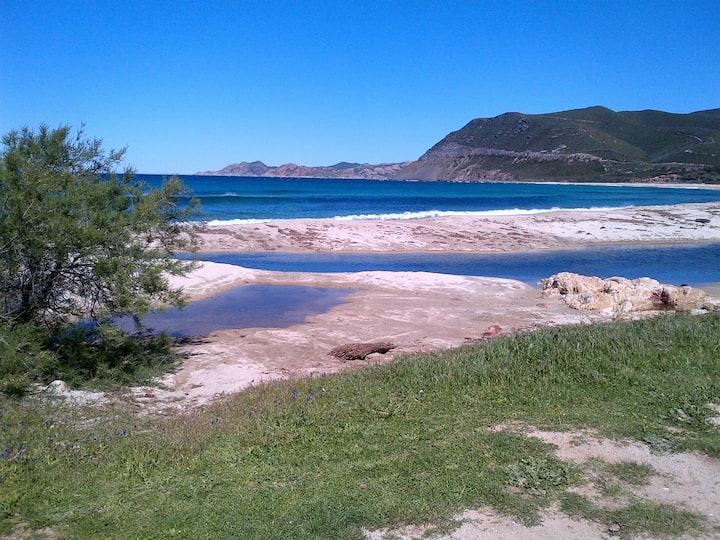 villa corse piscine chauffée et plage
