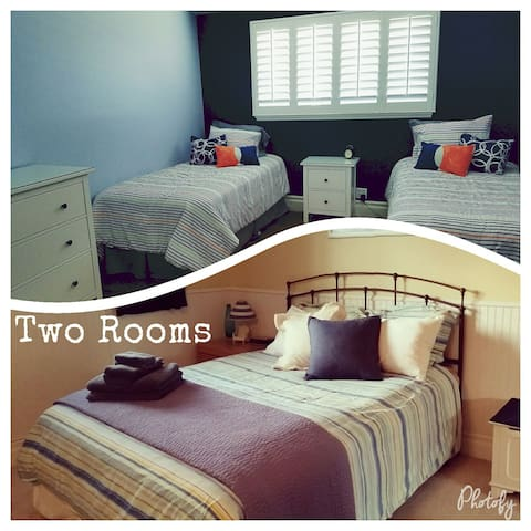 Two Rooms - for Groups/Families - Costa Mesa - House