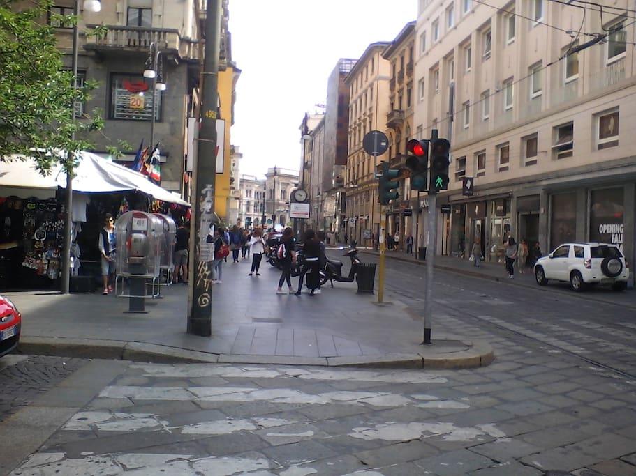 Via Torino, Piazza Santa Maria Beltrade