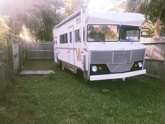 Urban RV Site in Heart of Downtown Eau Gallie