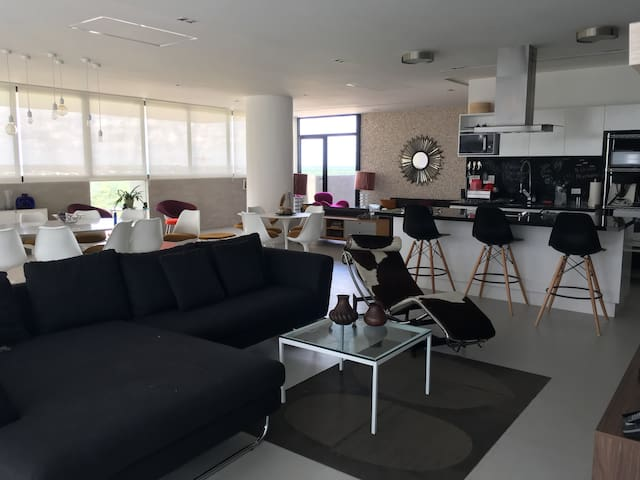 Merida Penthouse 2 rooms/2.5 Bathrooms with Pool - Cholul - Wohnung