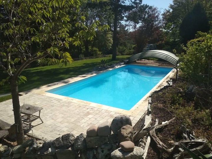 Etretat - Authentique Villa XIXe-piscine chauffée