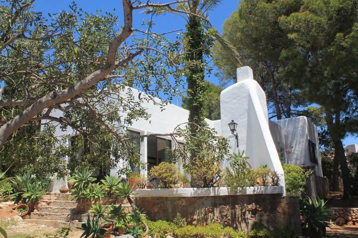Casa estilo ibicenco en Alcocebre con WIFI