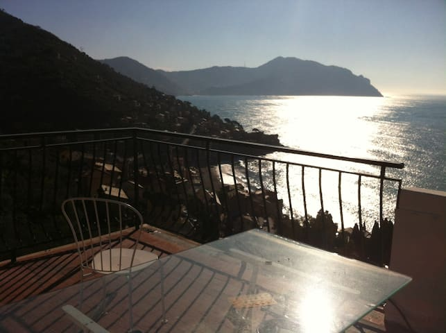House with terrace view of the sea - - Pieve Ligure - Genoa - Appartement