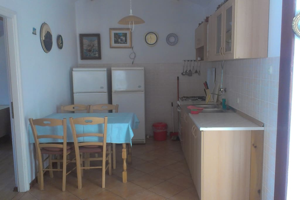 Fully functionable and brand new kitchen facility