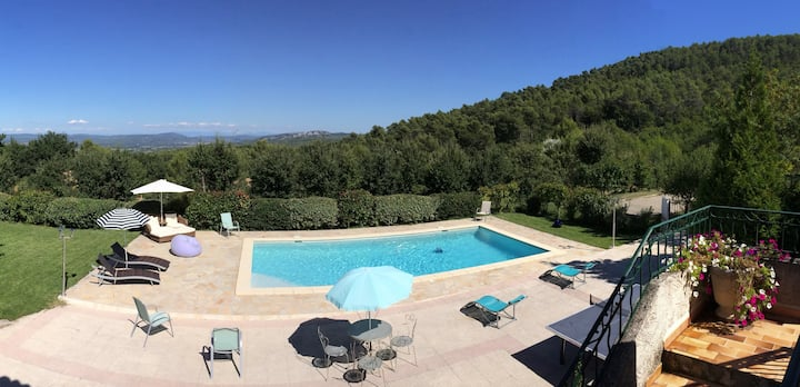 Villa and pool  Aix en Provence