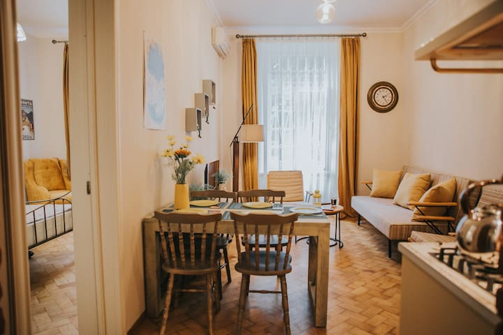 Tbilisi Centre/Free parking/Near railway/15%off!