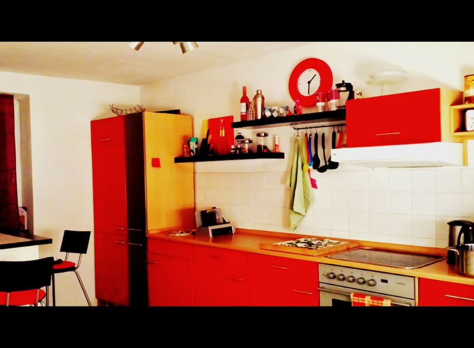 Our wonderful kitchen.