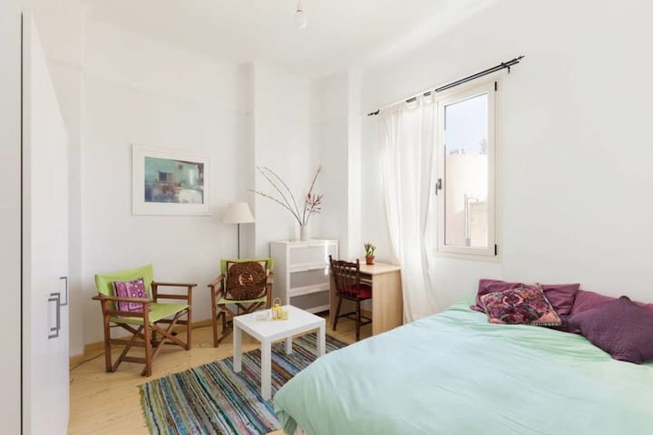 Cosy and bright flat near the city centre - Athina - Appartement
