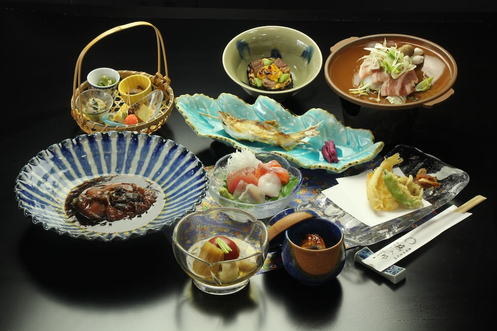 Japanese Dinner with local food