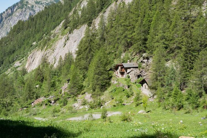Baita Montagna Courmayeur - Val Sapin