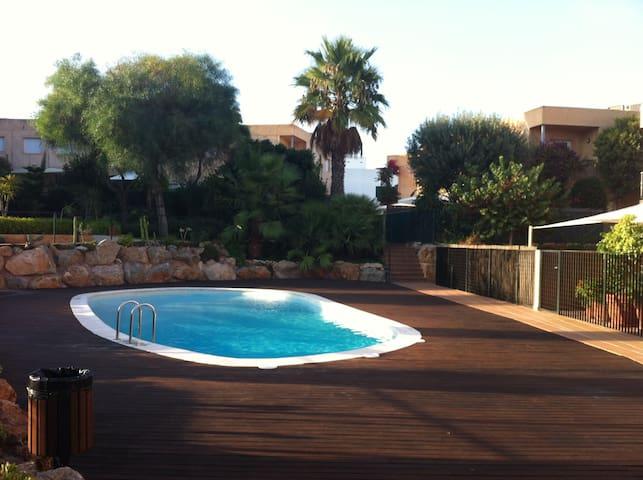 Residencia-piscina / San Rafael-IBZ - San Rafael, Ibiza - Apartment