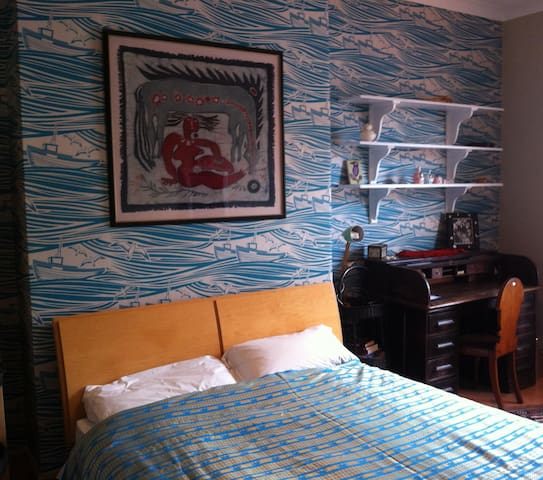 Seaside Home: Lovely Big Bright Bedroom - Whitley Bay - Dům