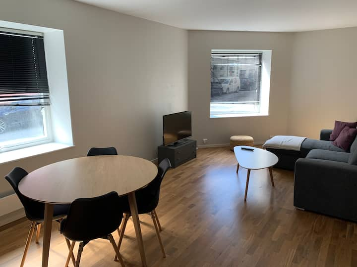 Apartment in central Ålesund with free parking.