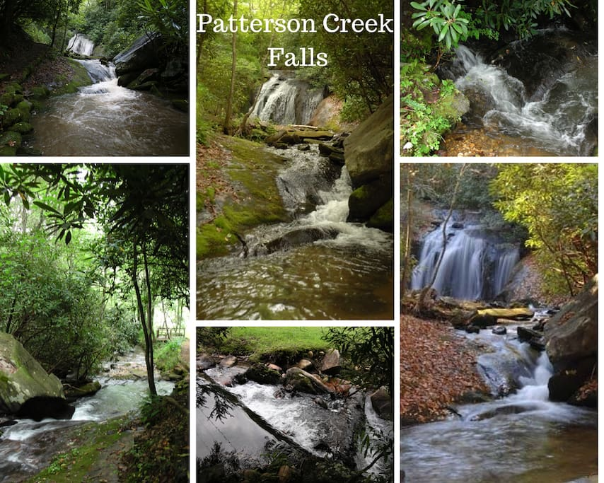 Experience the amazing Patterson Creek Falls, our private waterfall!