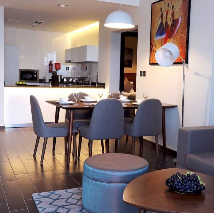 2 bedroom suite in 4 star Hotel
