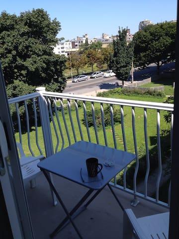 Living room's balcony