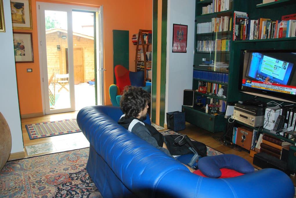Sala comune della casa