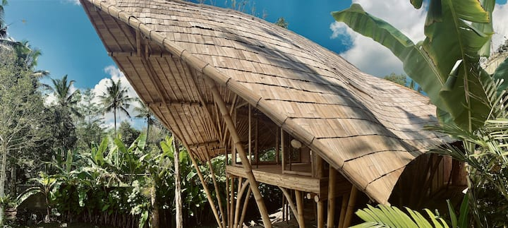The Edge Bamboo House by Gaia Bali