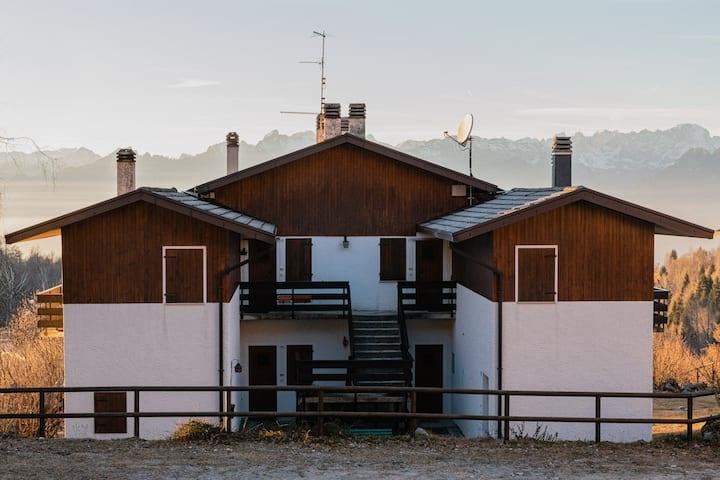 Alloggio vista Dolomiti, ingresso indipendente