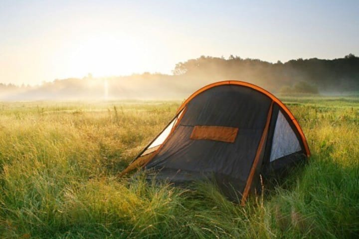Палатка на двоих
