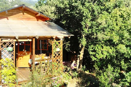 Rustic Cabin El Til·ler