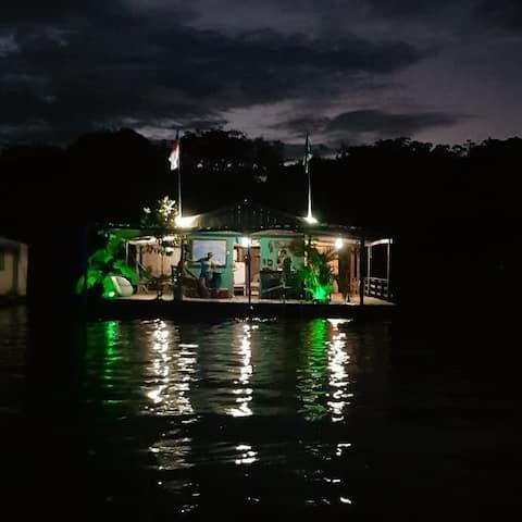 Floating House (House Boat)