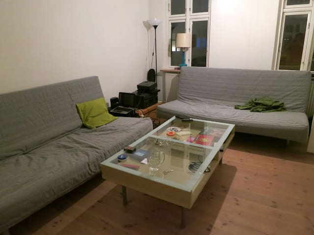 Bright room in a beautiful house, located centraly - Aarhus - Rumah