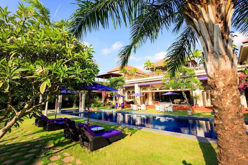 Sayang D'Amour- Lush gardens surround style and glamour.