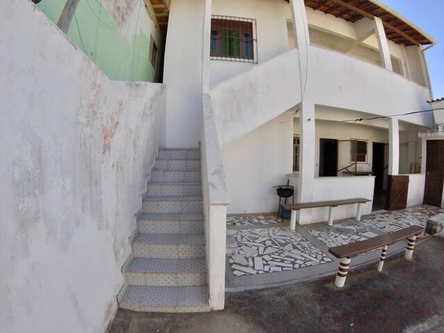 Escada de ingresso à casa de cima (1ro lance)