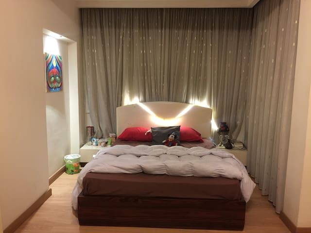 Special big room with bathroom in garden city