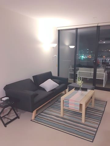 Close CBD female only | Sofa bed with own bathroom