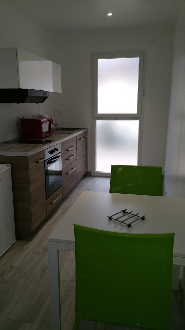 Appartement N°6 Vert Le Bon Mat'Ain