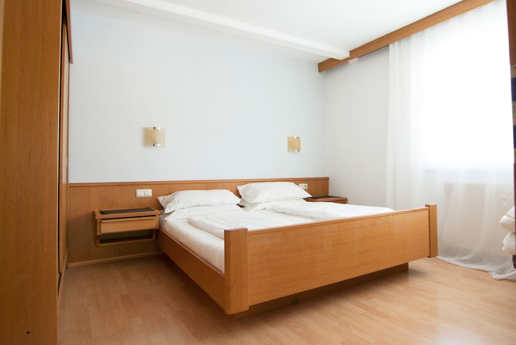 Double bedroom with Austrian Twin Bed