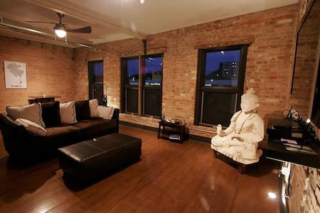 Urban loft in arts district - Loteng