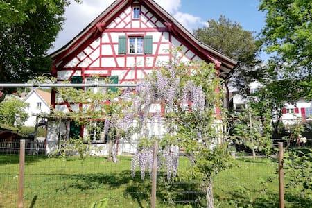 Rustikales Privatzimmer nahe dem Rheinfall