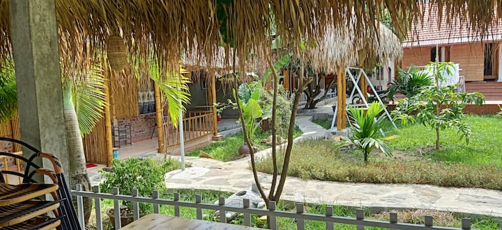 Let's go to the Ninh Binh Green Field Homestay.