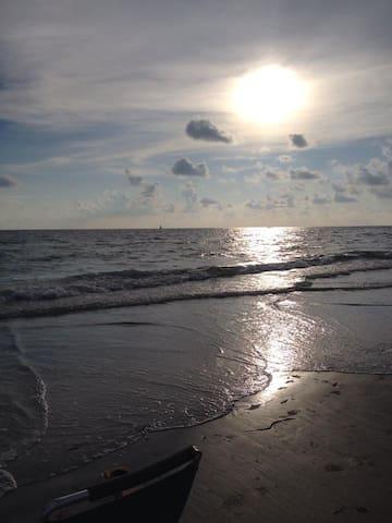 Beach Side STEPS TO BEACH!