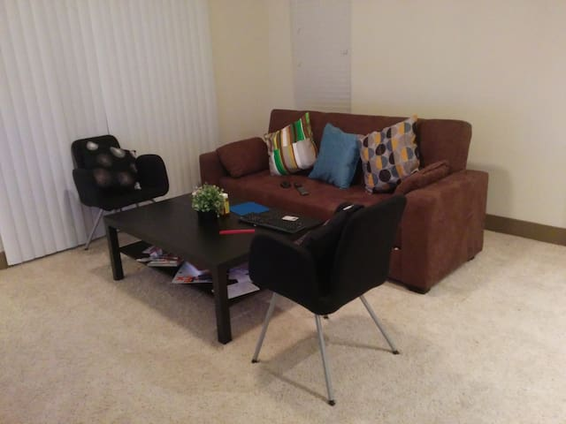 Hall with sofa-cum-bed available - Richardson - Apartment
