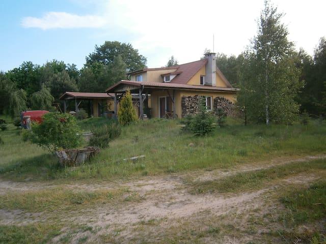Dom nad jeziorem Marąg - Morąg