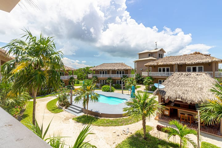 Sapphire Beach Resort 1 Bedroom Pool View Villa located in quiet secluded resort! (02D)