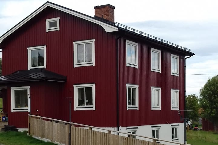 2 family rooms 15 km from Åre just like home.
