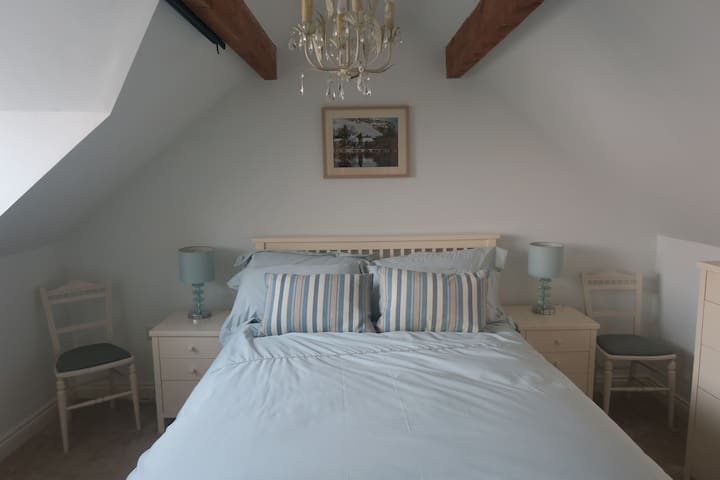 Main double bedroom with views