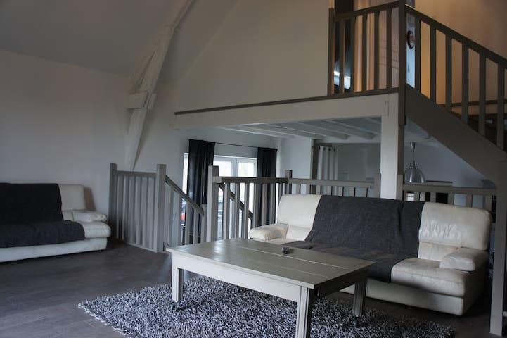 Belle grange rénovée sur 1 hectare - Beynat - Huis