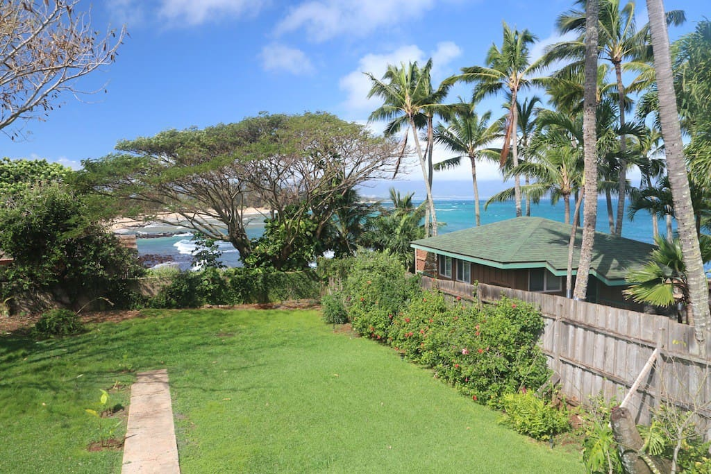 View of Paia Bay from upstairs